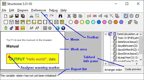 Fundamental GUI layout