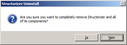 Windows installer - uninstaller