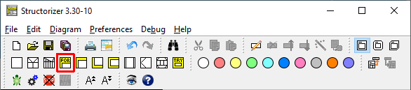 Icons For-Loop in DIN mode