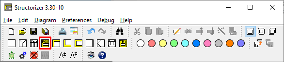 Icons For-Loop in not-DIN mode