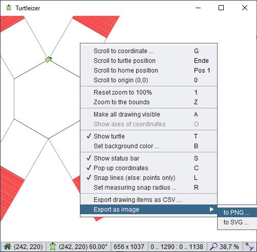 Turtleizer GUI features